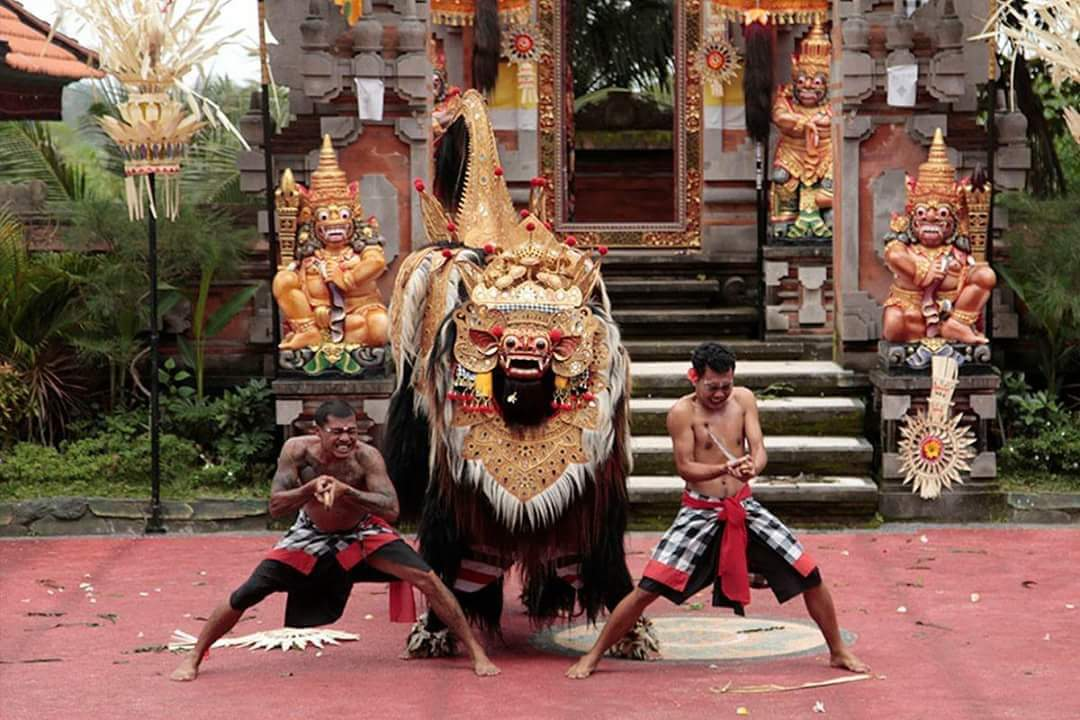 bali full day tour barong dance