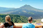 lunch at mount batur
