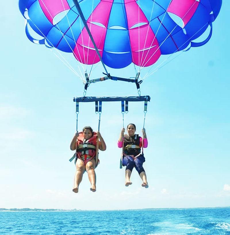 tajung benoa parasailing